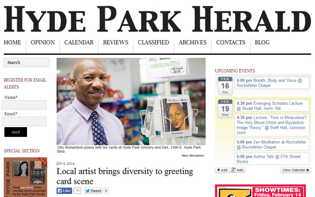 Lavenderpop HP Herald story Otis Richardson