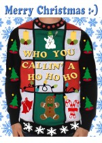 web lavenderpop ugly xmas sweater