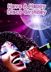 new lavenderpop happy disco birthday