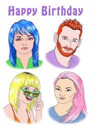 website bday color art